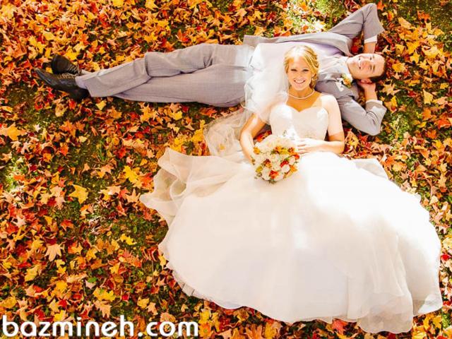 ایده های برگزاری عروسی در پاییز