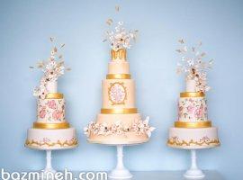 9 مدل کیک عروسی فوق العاده سال 2018