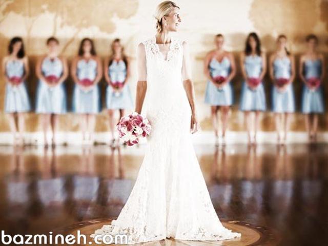 راهنمای انتخاب لباس ساقدوشهای عروس خانم