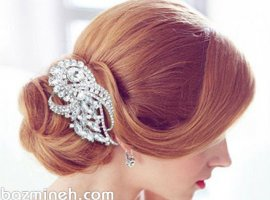 انتخاب مدل مو بر اساس لباس عروس