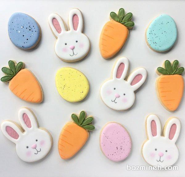 کوکی های کودکانه جشن تولد با تم خرگوش