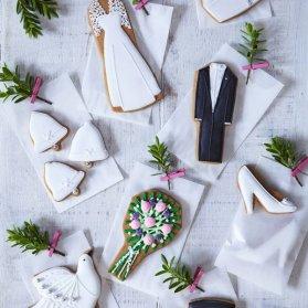 کوکی های فانتزی جشن نامزدی یا عروسی