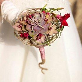 دسته گل خاص عروس مناسب عروس خانم های خاص پسند