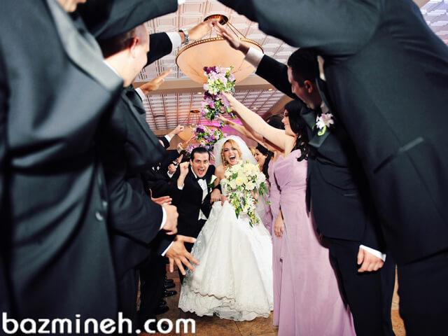 ایدههای ورود عروس و داماد به سالن عروسی