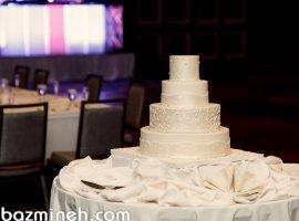 کیک عروسی به سبک کلاسیک