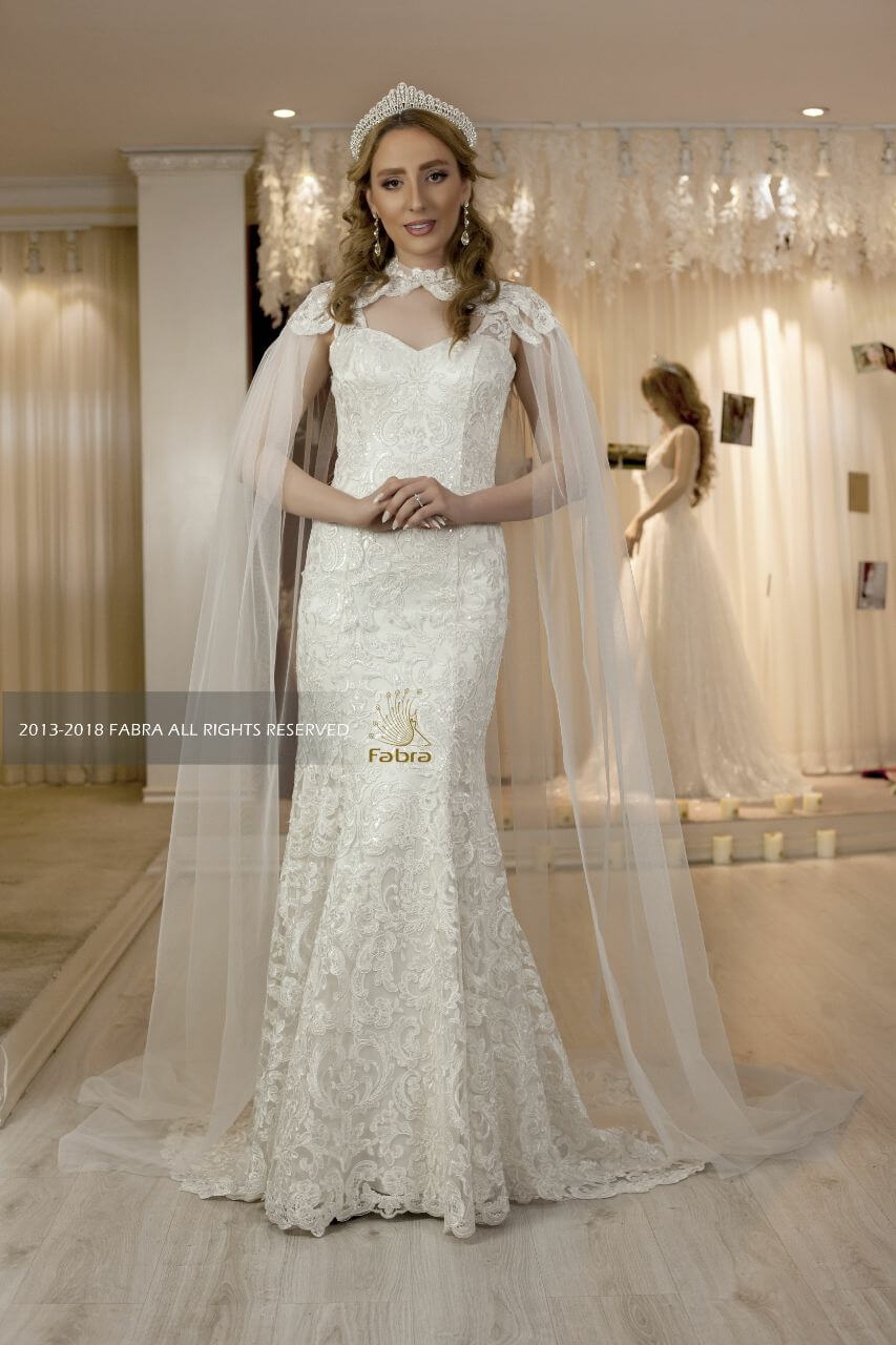 مزون لباس عروس فابرا- خانم ابراهیمی
