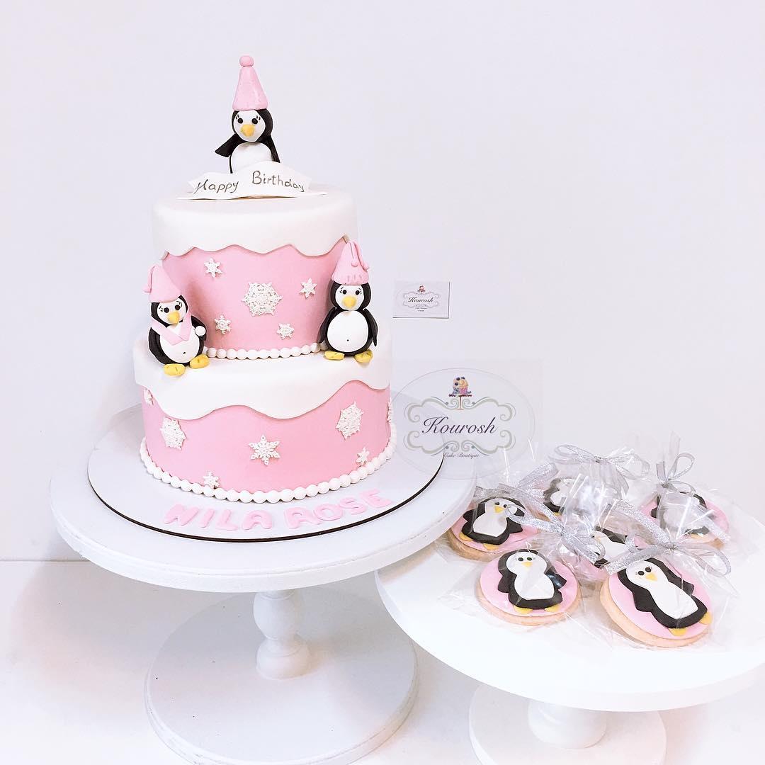 کیک و شیرینی کوروش