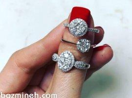 انواع حلقه برای نشان، نامزدی و ازدواج