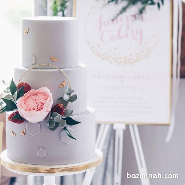 کیک چند طبقه یونیک جشن نامزدی یا سالگرد ازدواج