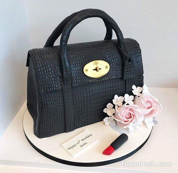 کیک فوندانت فانتزی جشن تولد دخترونه