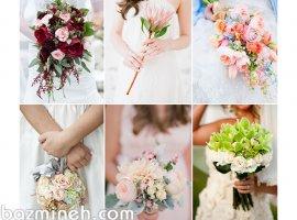 انواع دسته گل عروس و ساقدوش