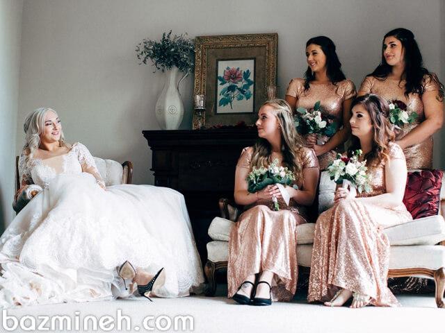 چگونه با کمترین هزینه ساقدوش عروسی داشته باشیم؟