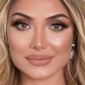 آرایش لایت زیبا برای عروس خانم ها در مراسم عقد
