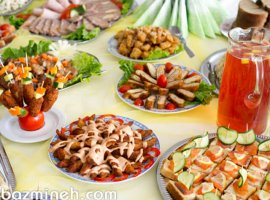 خوراکیهای مناسب برای مهمانی عصرانه