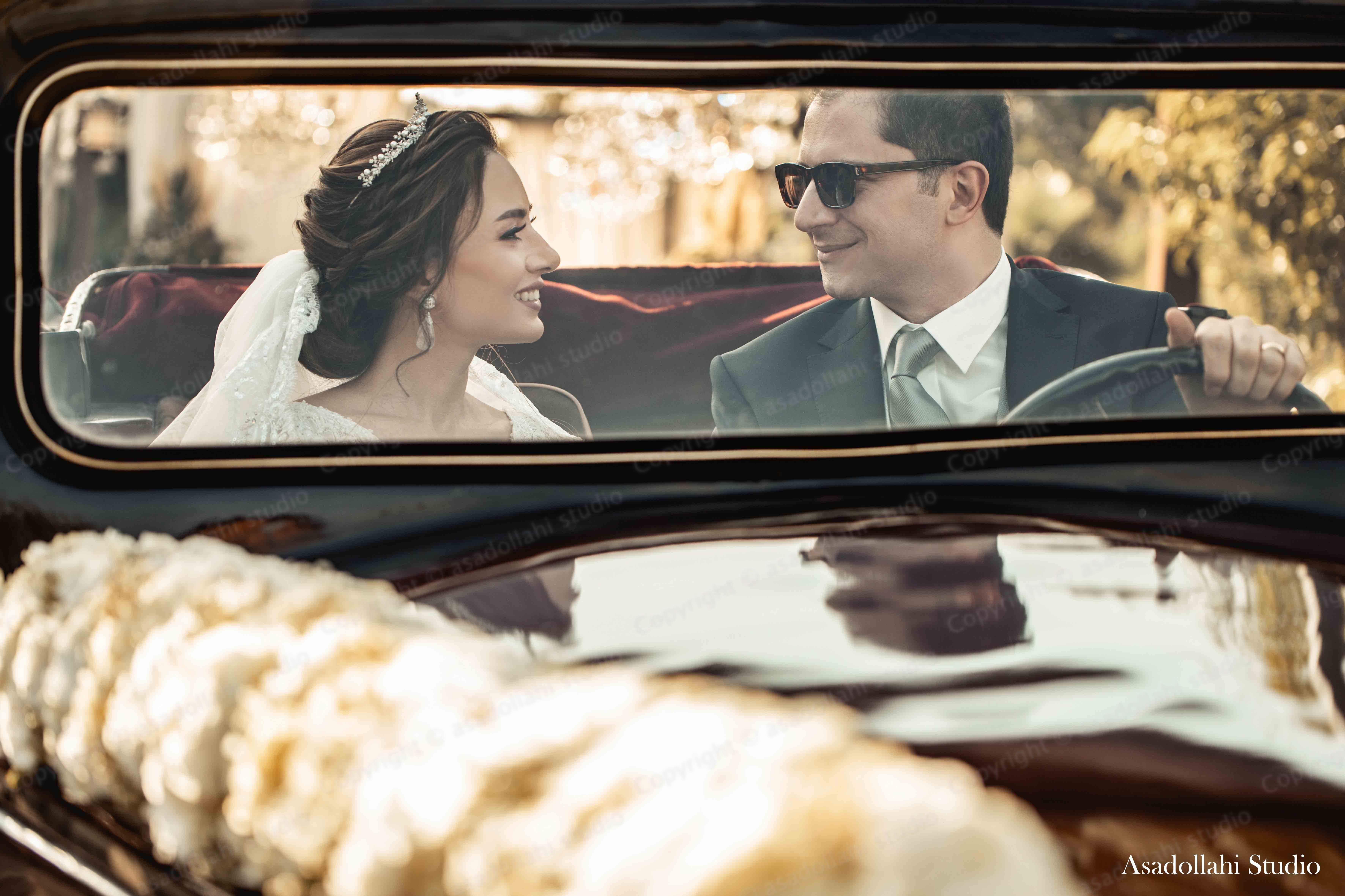 استوديوي اسداللهي - میلاد اسداللهی - استودیو عروس