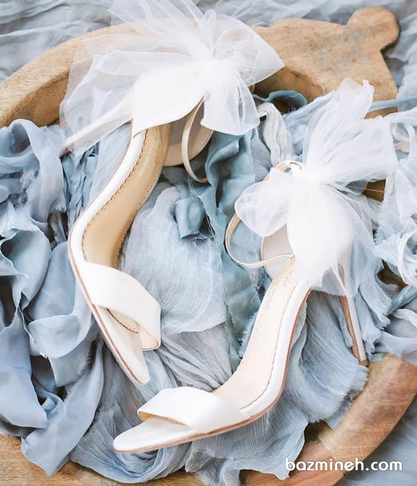مدل صندل ساده و شیک عروس مناسب برای عروس خانم های ساده پسند