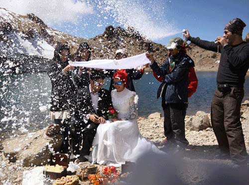 7 عروسی عجیب در ایران
