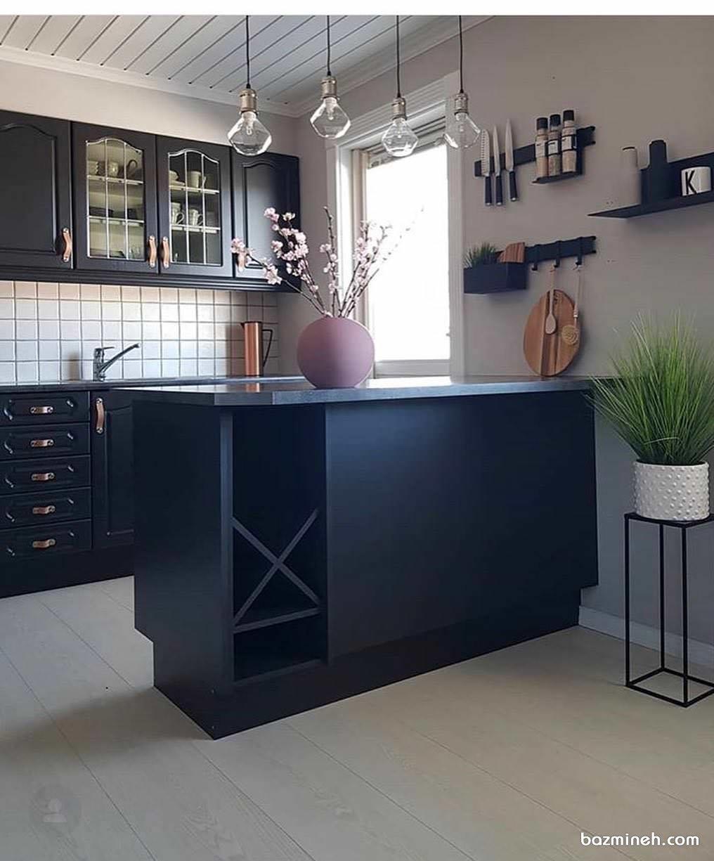 دکوراسیون و چیدمان آشپزخانه به سبک مدرن