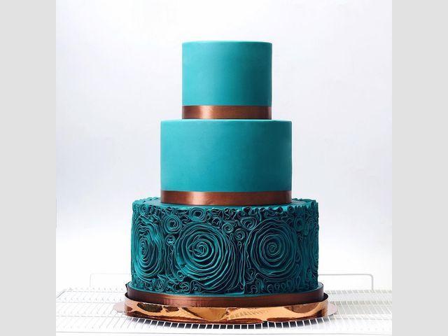 12 مدل کیک عروسی برای همه سلیقه ها