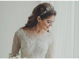 6 مدل هدبند ظریف برای روز عروسیتان