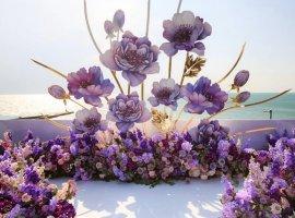 عروسی با ایده های بهاری