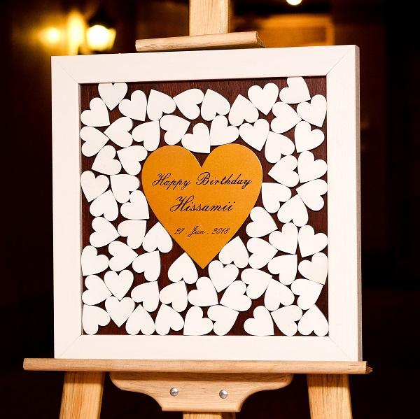 تابلو یادبود عروسی