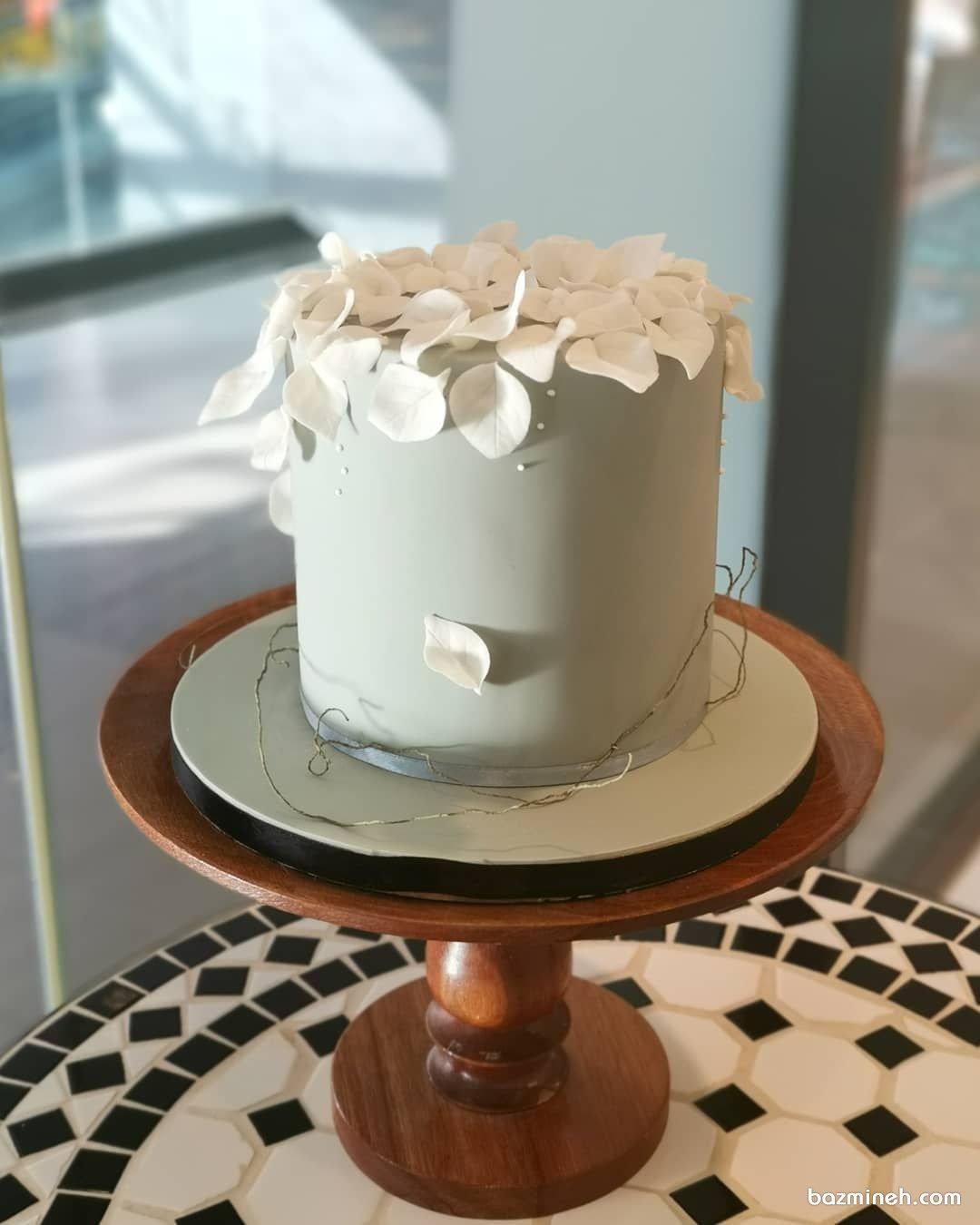 کیک تم بهاری جشن تولد بزرگسال