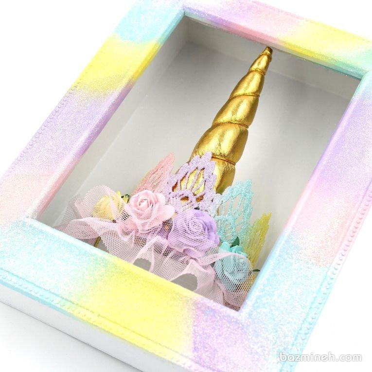 گیفت تاج سر جشن تولد دخترونه با تم یونیکورن (Unicorn)