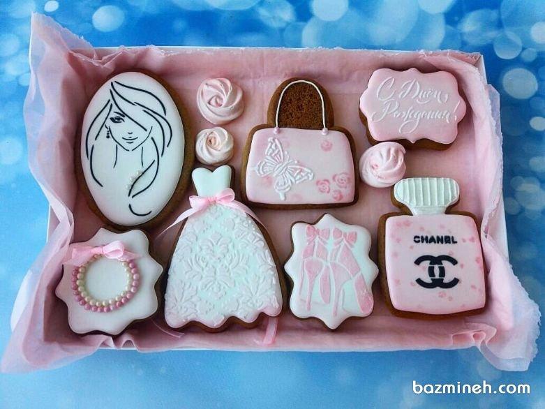 باکس کوکی هدیهای مهیج برای جشن تولد دختر خانمها