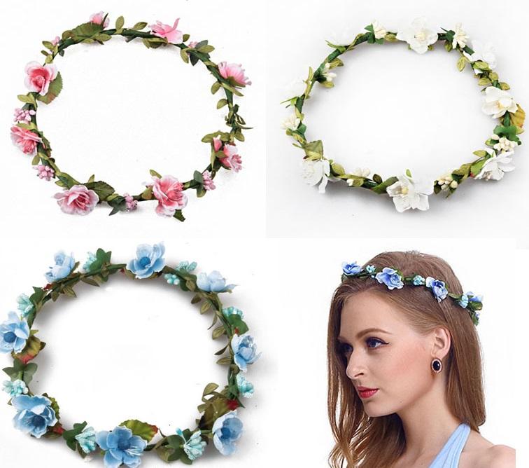 دو روش برای ساخت تاج گل عروس با گلهای طبیعی یا مصنوعی