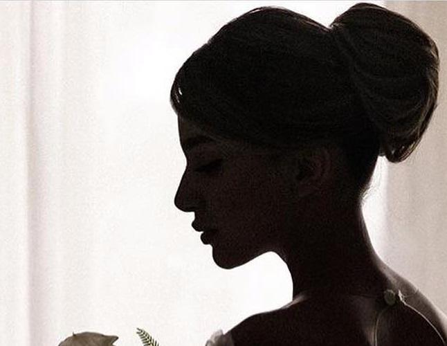 آموزش شینیون ساده موی عروس در منزل