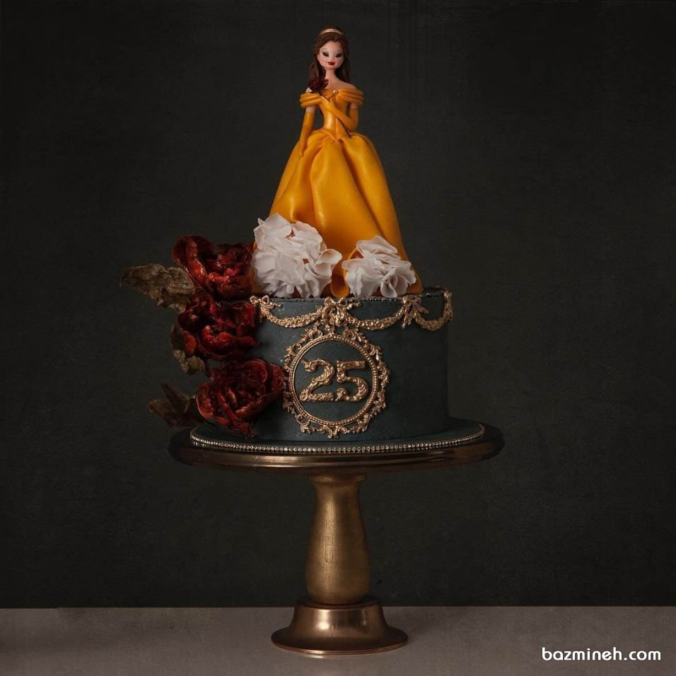 کیک خاص و یونیک عروسکی جشن تولد دخترونه