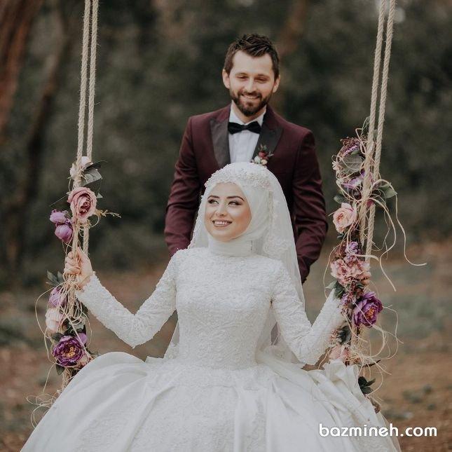 عروس محجبه، یک استایل جالب و متفاوت