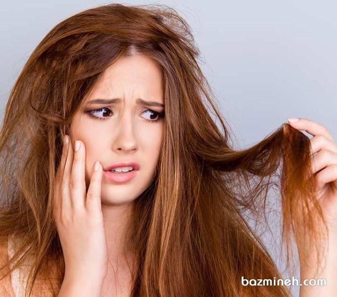 روش های مراقبت از موهای دکلره شده و سوخته