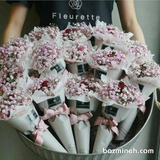 گیفت مدل دسته گل مناسب برای جشن نامزدی و عروسی