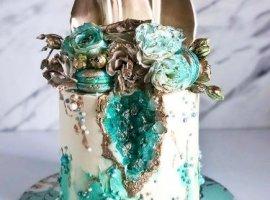 15 نوع کیک شیک و مناسب برای مراسم عروسی همراه با 45 مدل پیشنهادی