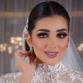 آرایش مد روز عروس مناسب برای صورتهای ظریف
