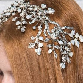 تاج عروس تخت مدلی زیبا برای عروس خانم ها در مراسم فرمالیته