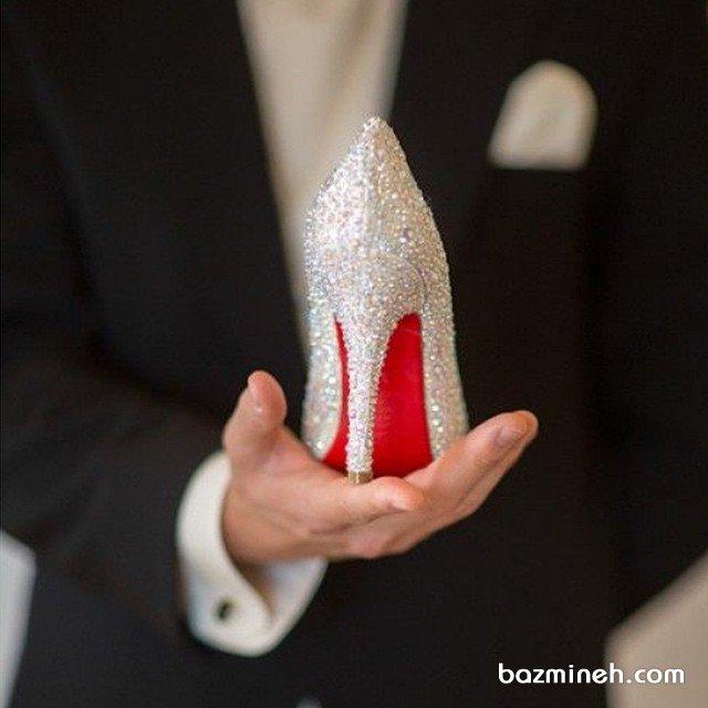 انواع کفش های پاشنه بلند عروس و موقعیت های مناسب استفاده از آنها