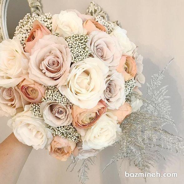 دسته گل رویایی و ملیج عروس