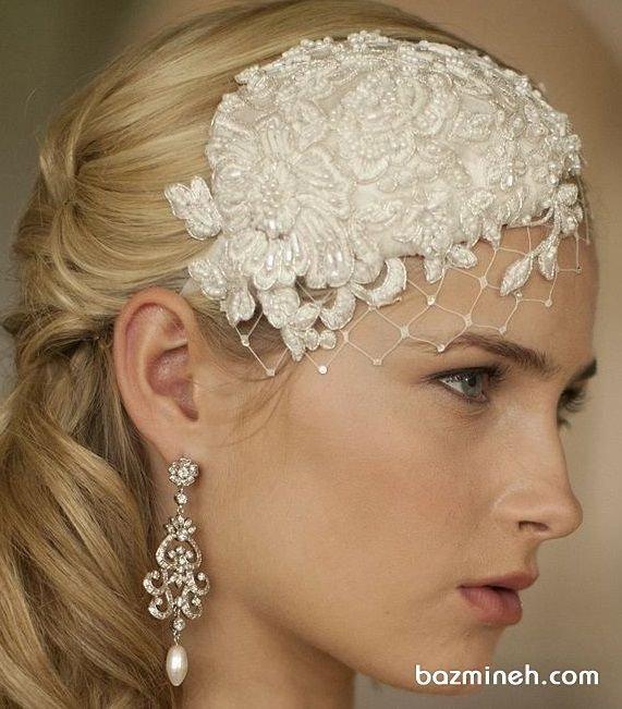 تل موی عروس اکسسوری زیبا برای عکاسی