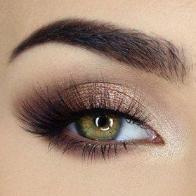 مدل آرایش چشم و ابرو (سایه اکلیلی و خط چشم)