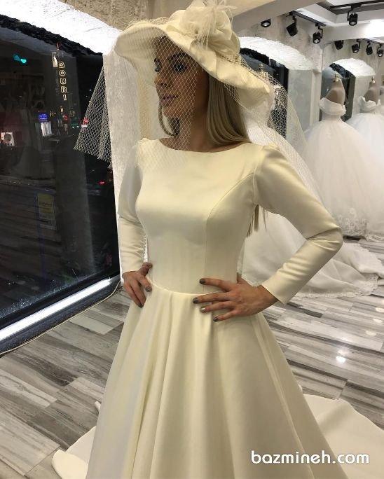 25 ایده جدید و زیبا برای لباس عقد سفید