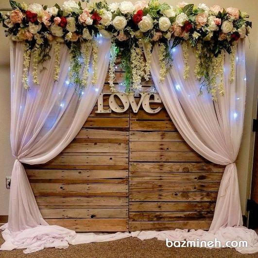 دکوراسیون خاص جشن بله برون یا سالگرد ازدواج به سبک بوهو