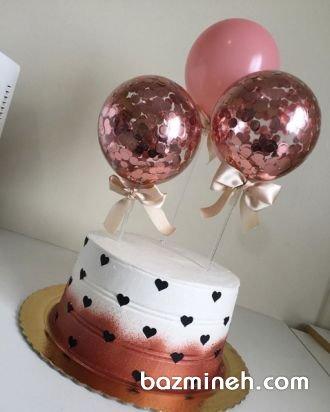 مینی کیک زیبای جشن سالگرد ازدواج
