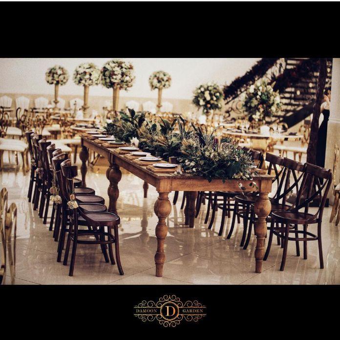 باغ تالار دامون - باغ تالار روستیک