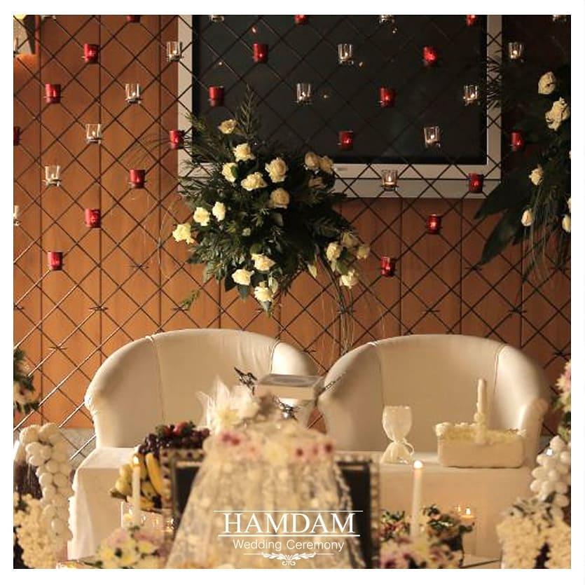 سالن عقد و دفتر ازدواج شمال تهران