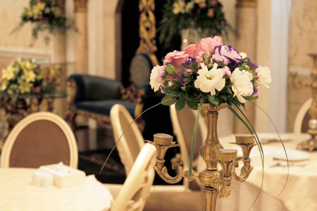 سالن تولد قصر گلها