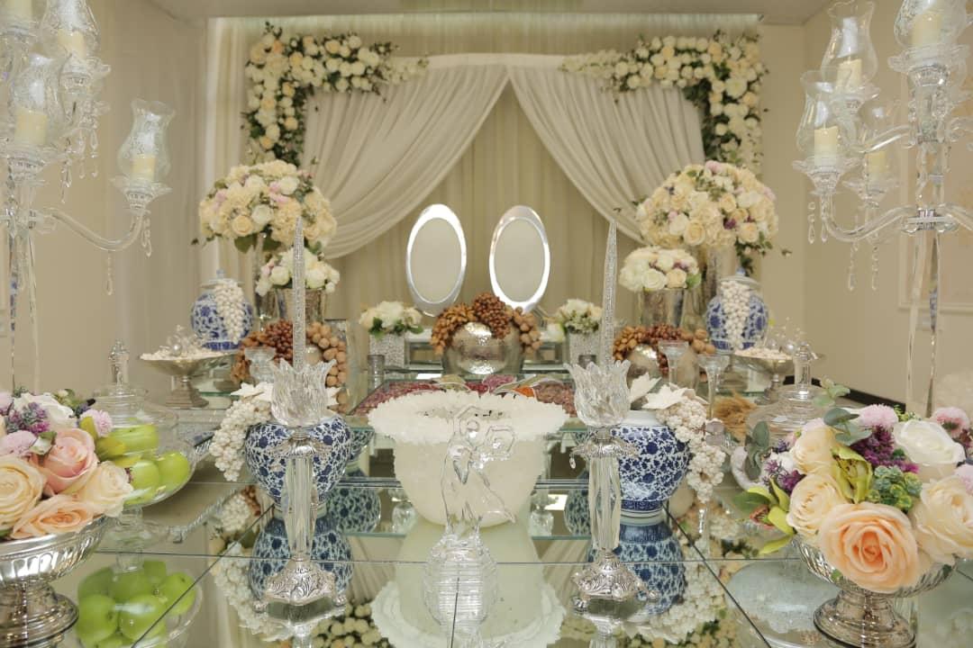 دفتر ازدواج مهرآذین، سالن عقدی شیک و زیبا در پاسداران با تیم حرفهای