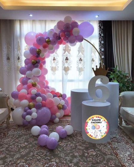 دکوراسیون جشن بالن فکتوری
